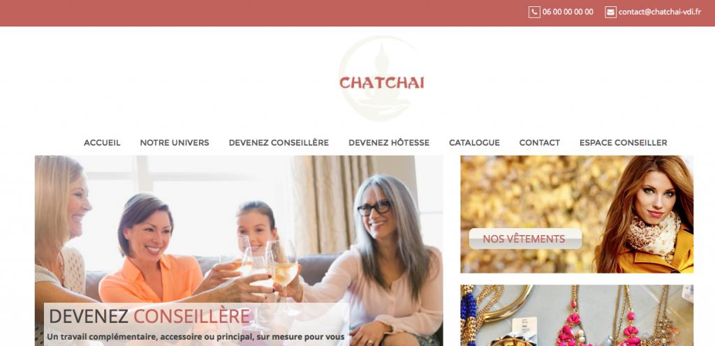 Site de vente en réunion Chatchaï