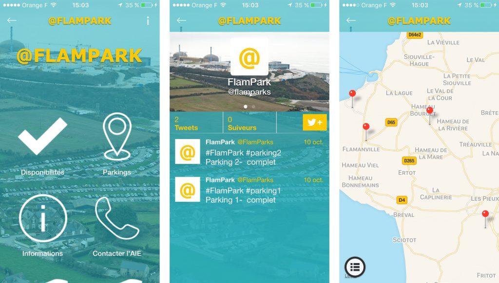 Création de l'application FlamPark