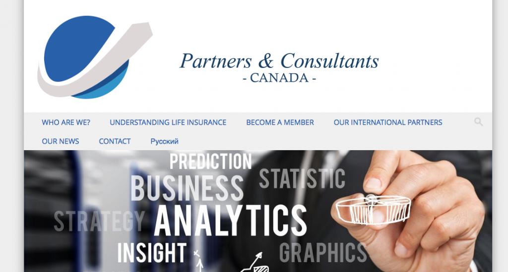 Création site internet association partenaires et consultants