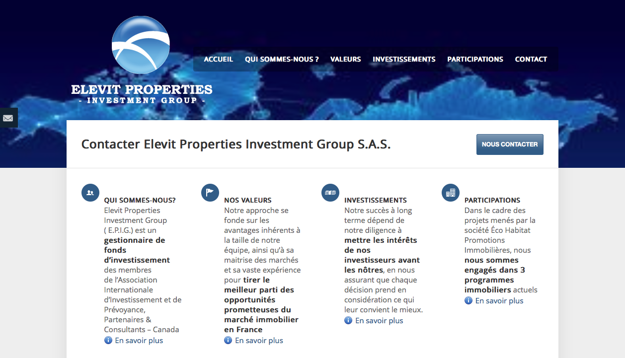 Elevit Properties Investment Group
