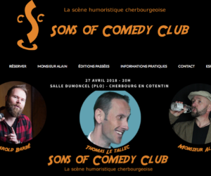 Sons of Comedy Club Cherbourg