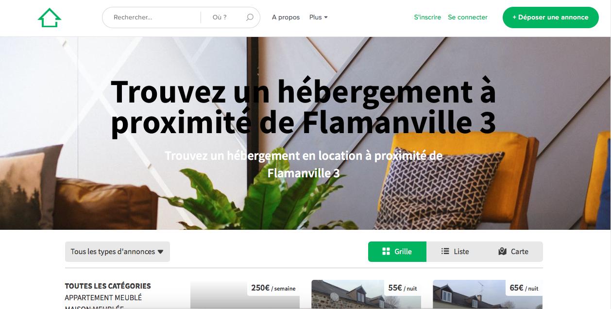 Hébergements Flamanville.fr