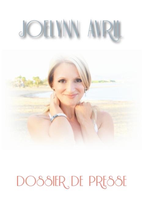 Création d'un dossier de presse pour Joelynn Avril
