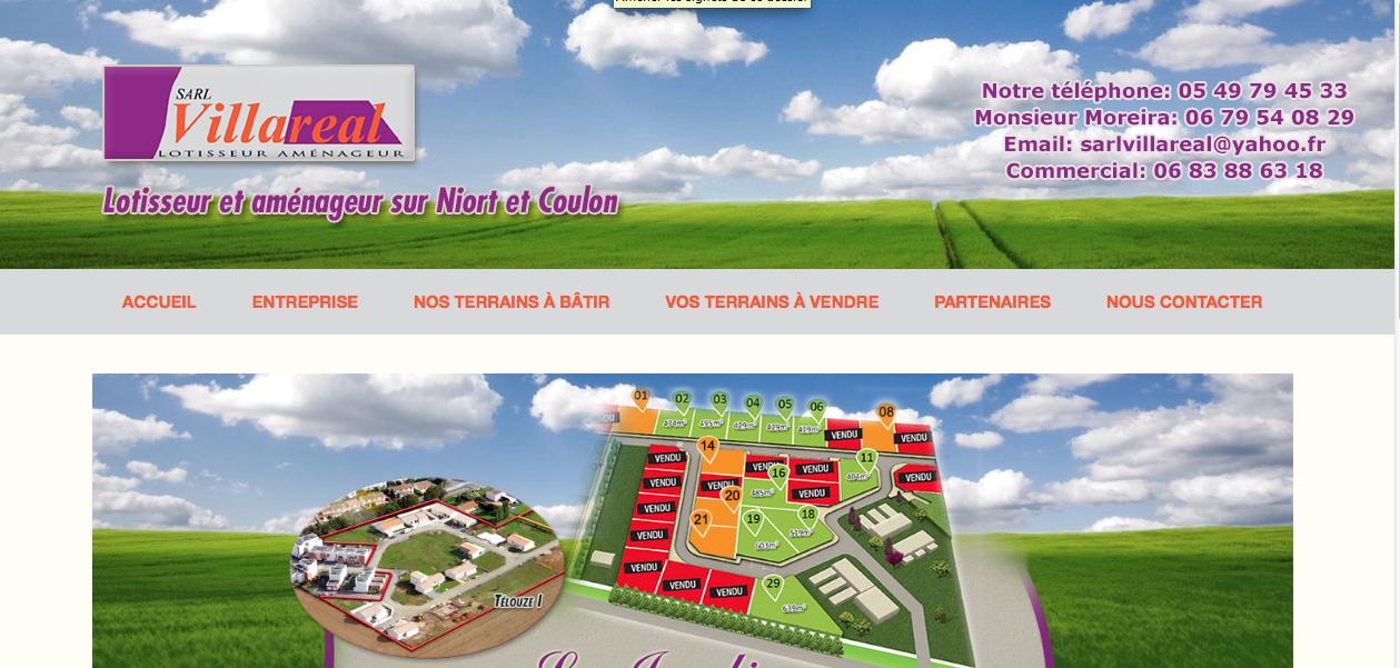 Restauration du site de la société Villaréal