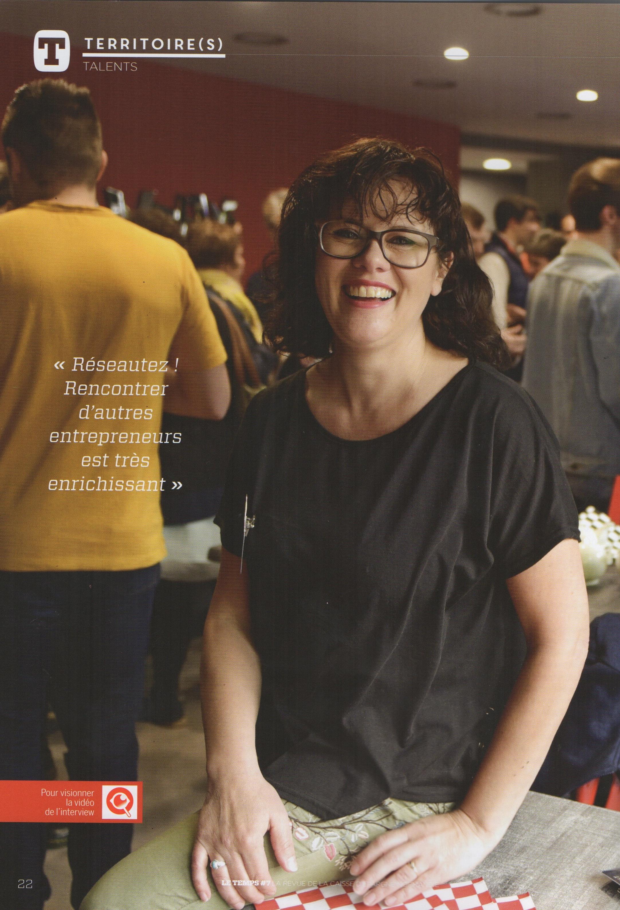 Article magazine Le Temps – Caisse d'Épargne Normandie – Juillet 2018
