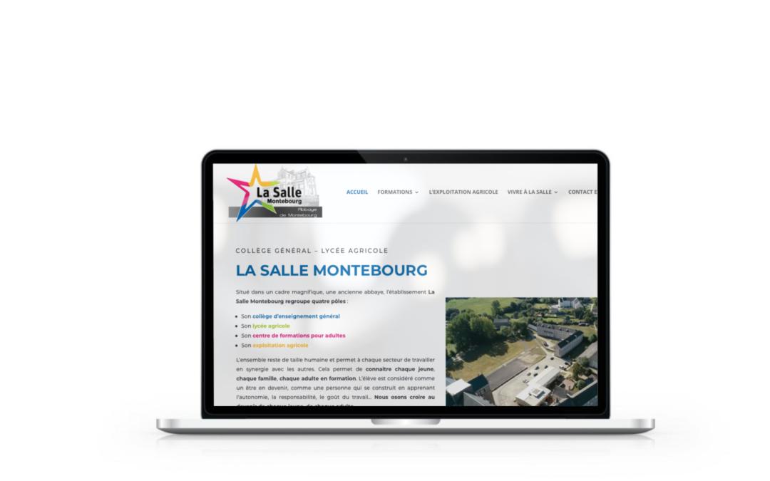 Refonte du site internet du Collège Lycée La Salle de Montebourg