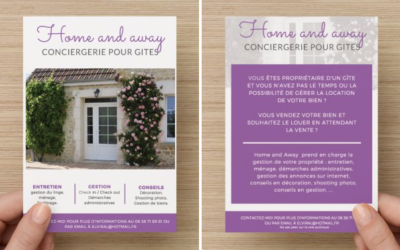 Création de flyers pour Home and Away