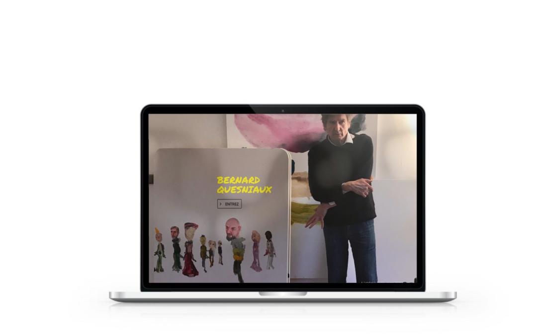 Création du site internet de Bernard Quesniaux