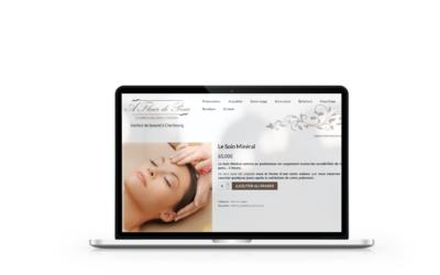 Création d'une boutique en ligne sur A Fleur de Peau