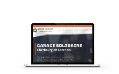 Création du site internet Garage Solidaire à Cherbourg