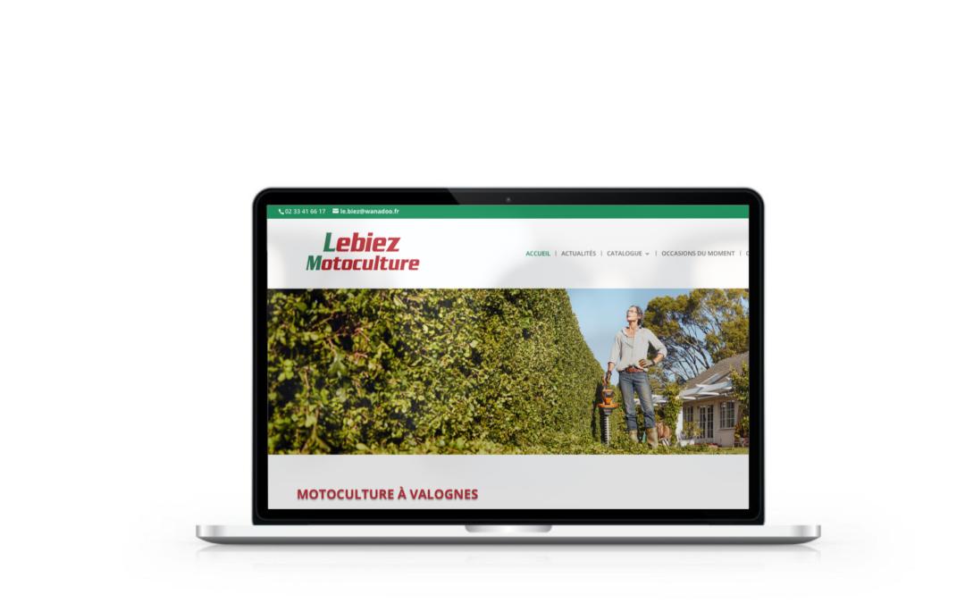 Refonte du site internet de Le Biez Motoculture à Valognes