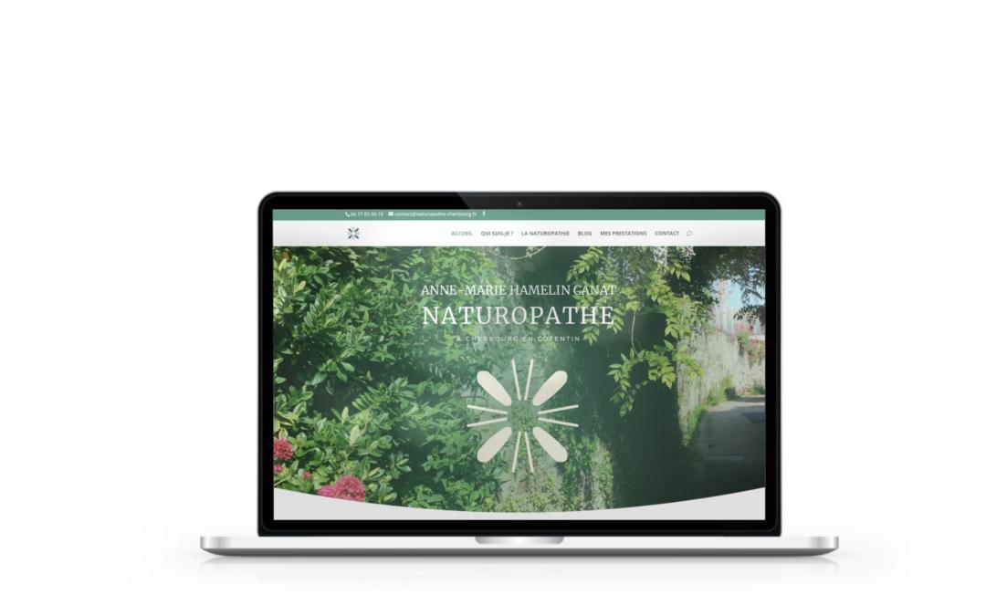 Création du site internet de Saine de Vie