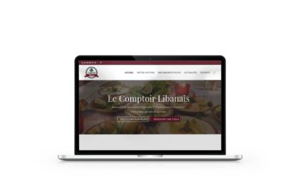 Refonte du site internet du restaurant Le Comptoir Libanais