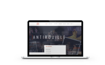 Refonte du site internet de l'association Antirouille