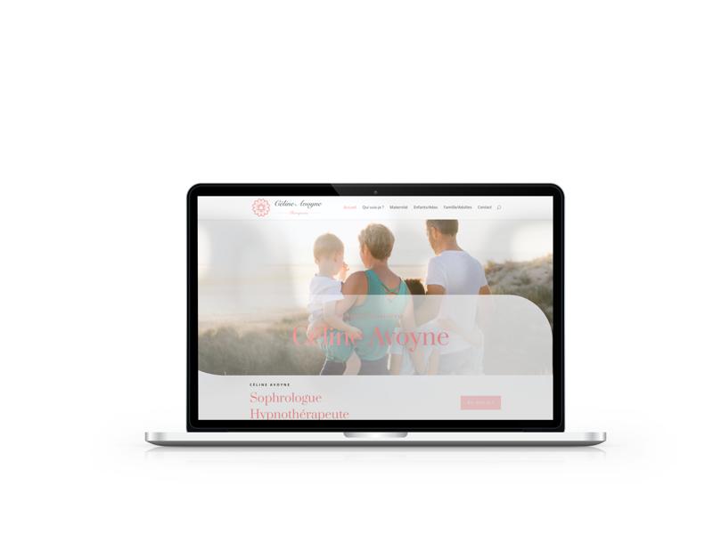 Création du site internet de Céline Avoyne