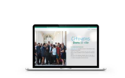 Création du site  de Citoyens dans la Ville