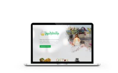 Création site internet de Yoga Naturo Trip