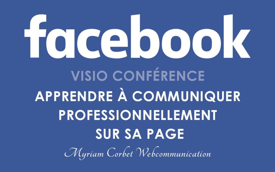 [NOUVEAU] Atelier Facebook en Visioconférence