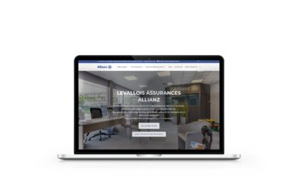 Refonte du site internet de Levallois Assurances