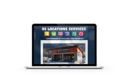 Création du site internet de 05 Locations Services