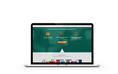 Refonte du site internet du Forum des Métiers et des Formation du Cotentin
