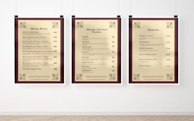 Création de menus pour le restaurant Le Comptoir Libanais