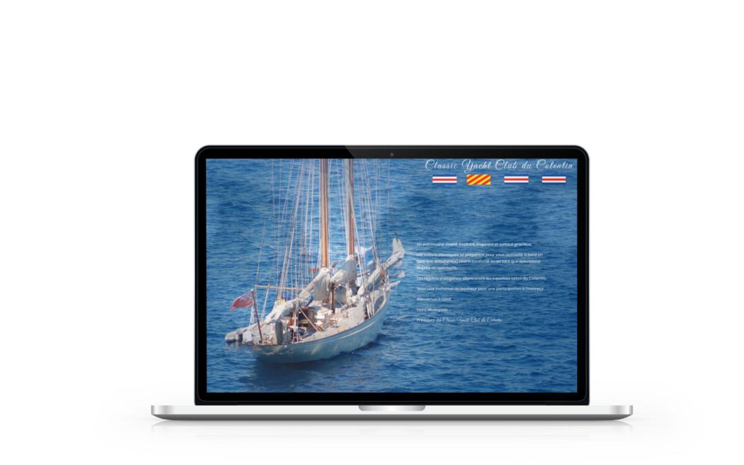 Création du site internet de Classic Yacht Club Cotentin
