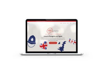 Création du site internet de Joli Language