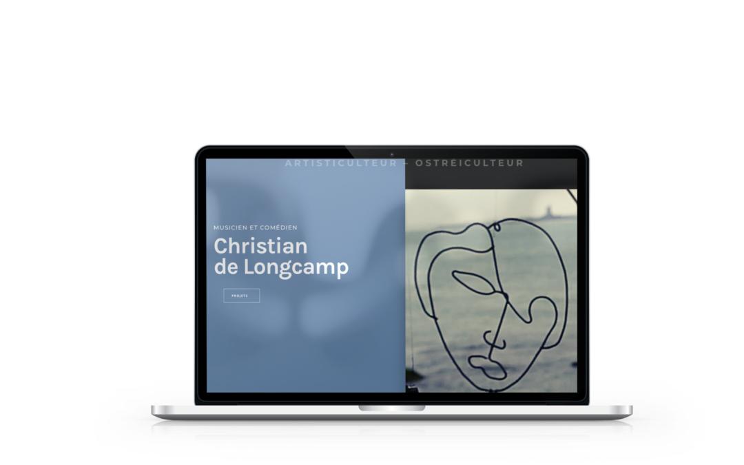 Création du site internet de Christian de Longcamp
