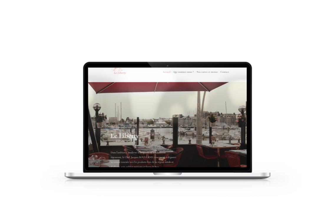 Création du site du restaurant Le Liberty