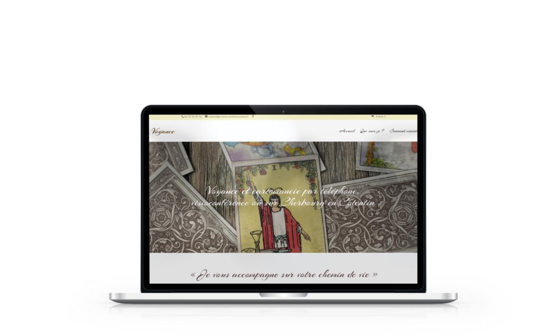 Création du site de Yvanne Cartomancienne