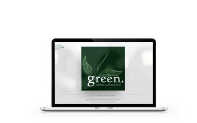 Création du site internet de l'espace beauté Green