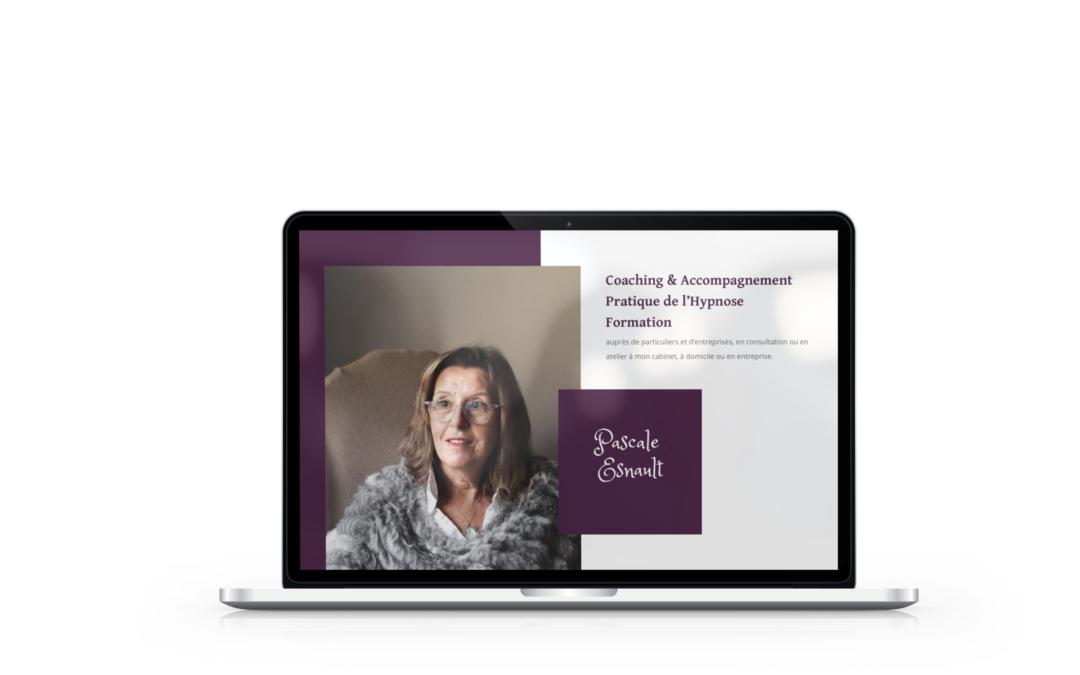 Création site vitrine de Pascale Esnault, praticienne en hypnose