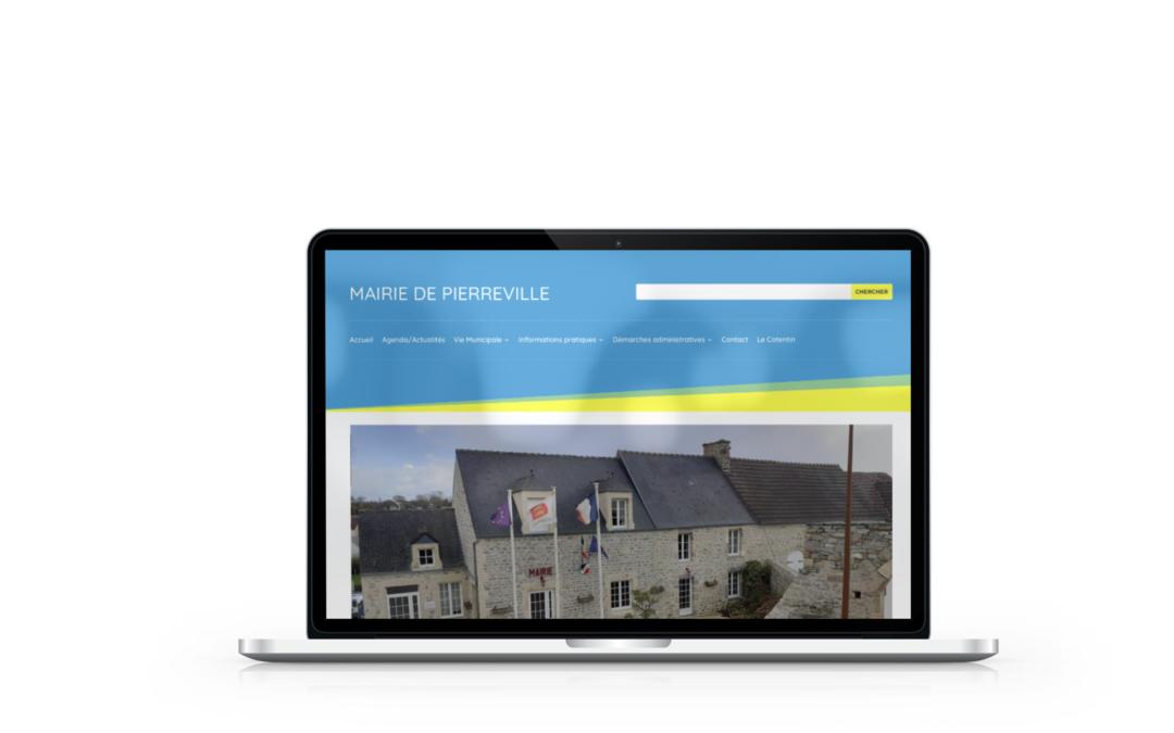 Création du site internet de la mairie de Pierreville