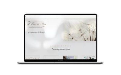 Refonte du site internet et boutique en ligne de A Fleur de Peau Cherbourg
