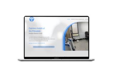 Création du site internet du Centre Médical du Maupas