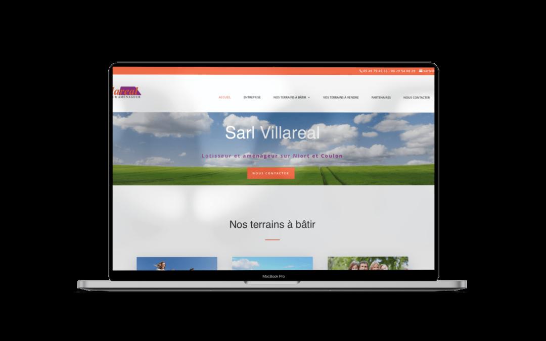 Refonte du site internet de Villareal