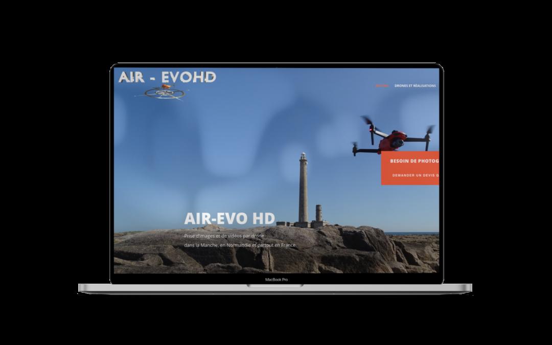 Création du site internet de Air Evo HD