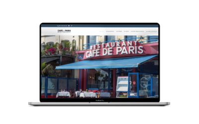 Restauration du site www.restaurantcafedeparis.com