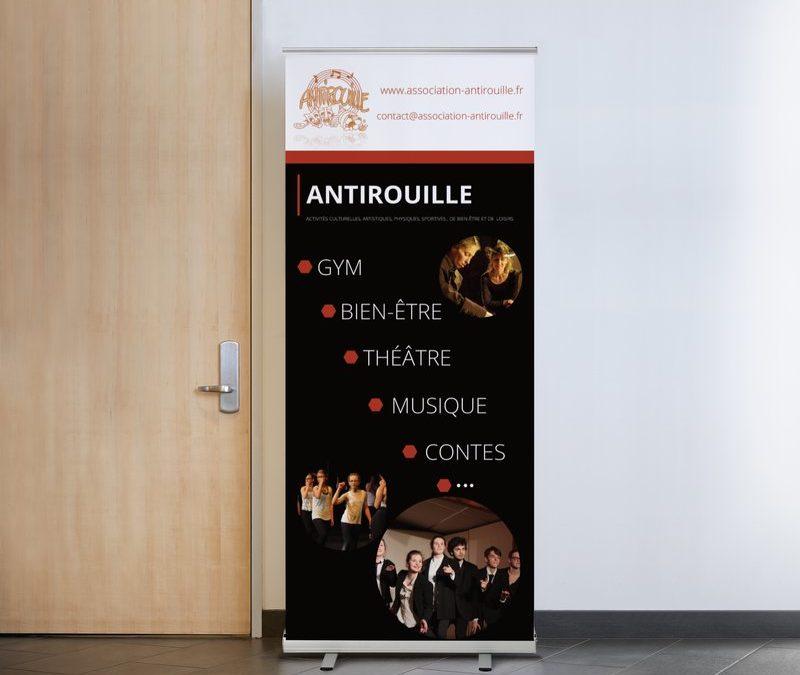 Création d'un Roll Up pour l'association Antirouille